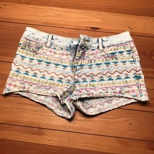 Adorable jean booty shorts